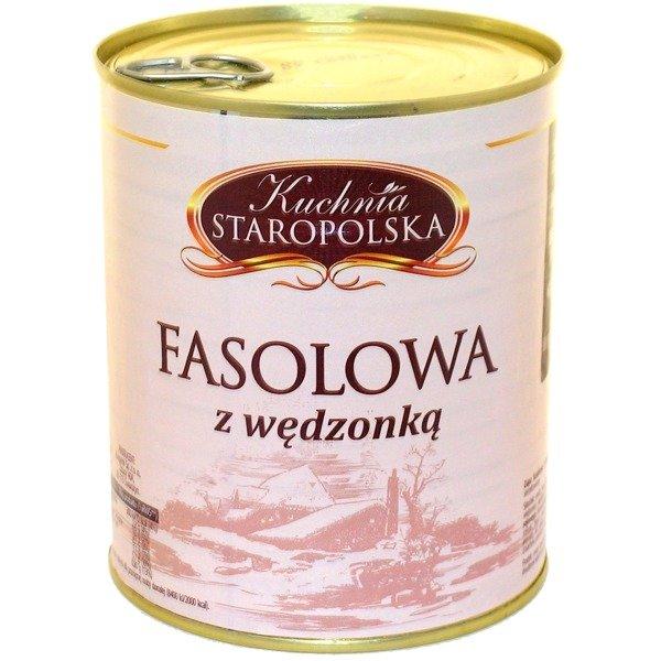 Zupa Fasolowa Z Wedzonka Kuchnia Staropolska 800g Sklep Hobbyhouse Pl