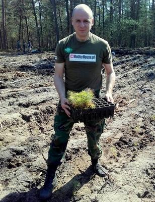 sadzimy 1000 drzew na minute