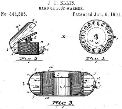 Ogrzewacz dłoni patent wynalazku