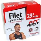 Filet z piersi indyka w sosie winegret FitMeat 160g 02.2023