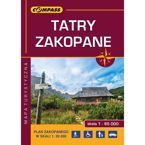 Mapa laminowana Tatry Zakopane Compass CS6765