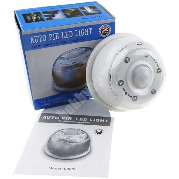 Lampka Z Czujnikiem Ruchu Na Baterie L0605 Hobbyhousepl