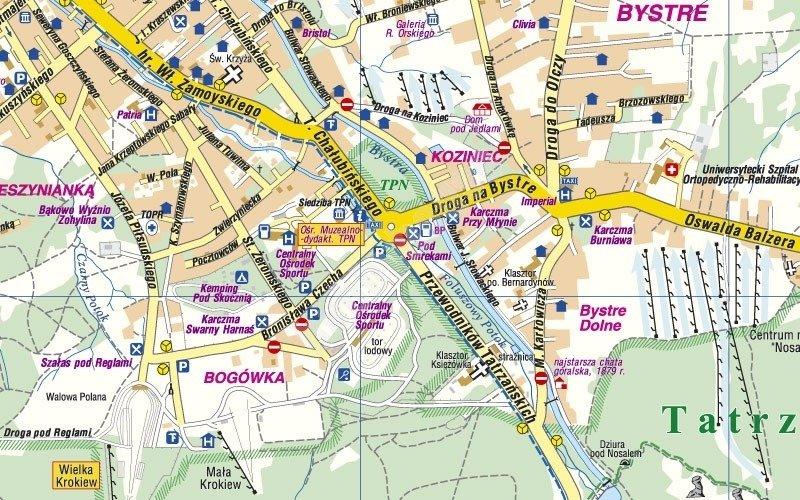 Mapa Laminowana Tatry Zakopane Cs6765 Sklep Hobbyhouse Pl