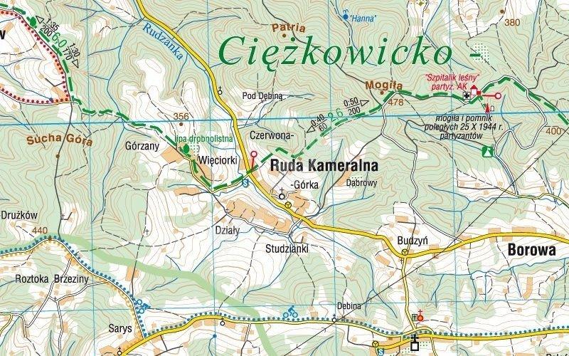 Mapa Turystyczna Pogorze Roznowskie Cs6777 Sklep Hobbyhouse Pl