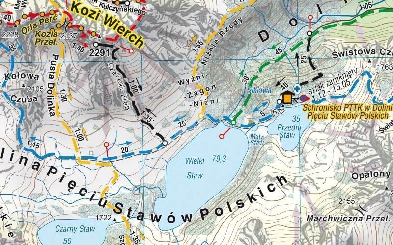 Mapa Turystyczna Tatry Polskie Cs6768 Hobbyhouse Pl