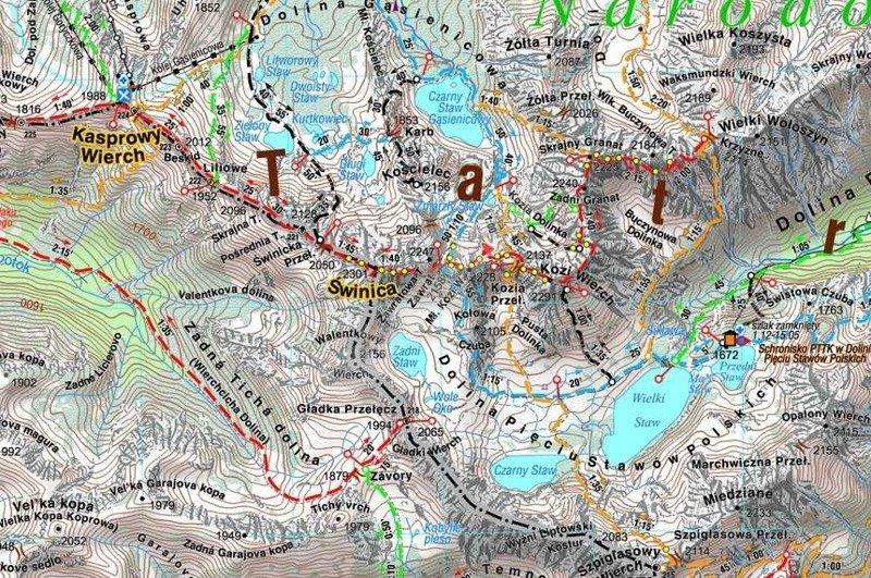 Mapa Turystyczna Tatry Polskie I Slowackie 2016 Cs6767 Hobbyhouse Pl