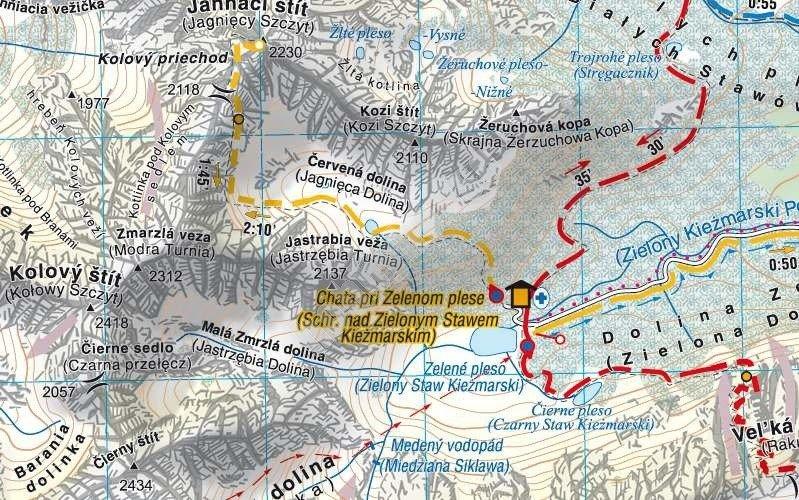 Mapa Turystyczna Tatry Wysokie Polskie I Slowackie Cs6766 Sklep