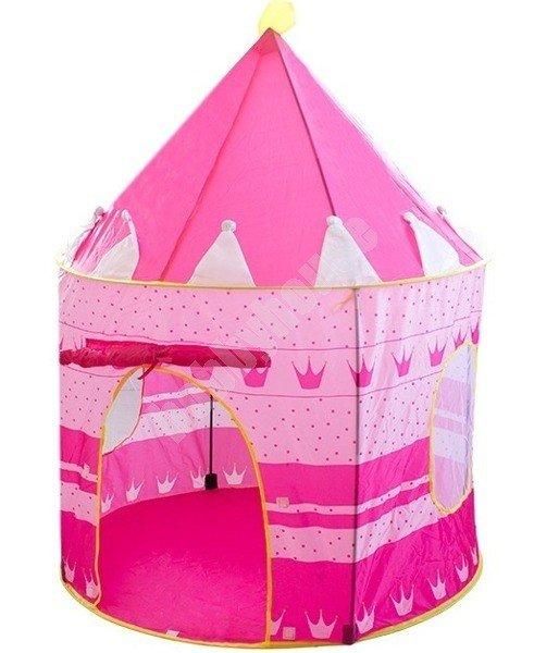 Namiot dziecięcy zamek różowy IT4920P | Hurtownia HobbyHouse.pl