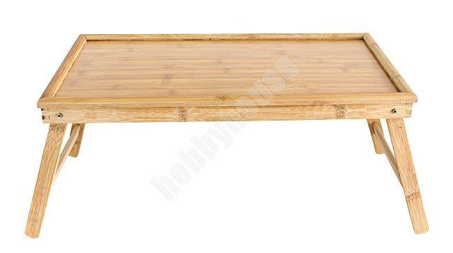 Stolik Drewniany Pod Laptopa 50 X 30 Cm At4144