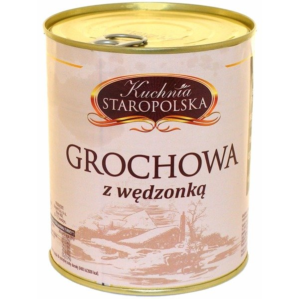 Zupa Grochowa Z Wędzonką Kuchnia Staropolska 800g 022020