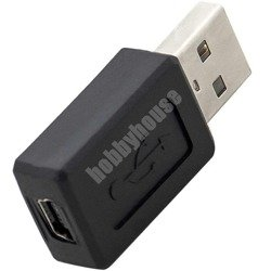 Adapter USB A męski-mini USB żeński Blow AD12