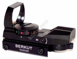 Celownik kolimator Berkut 1x22x33 11mm Red Dot/Green Dot BT5350