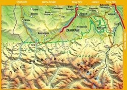 Mapa laminowana Tatry Polskie Compass CS6769