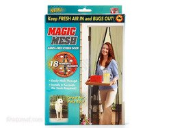 Moskitiera do drzwi Magic Mesh MY6188
